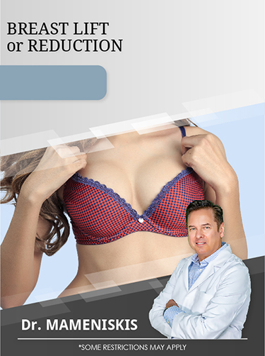Breast Reduction Or Lift With Dr. Mameniskis For $3,500 Special Offer Image