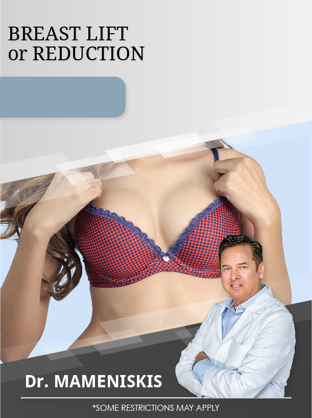 Breast Reduction Or Lift With Dr. Mameniskis For $3,500 Special Image