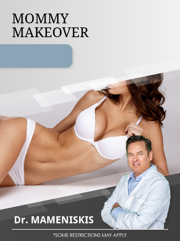 Mommy Makeover with Dr. Mameniskis for $5,000 Special Image