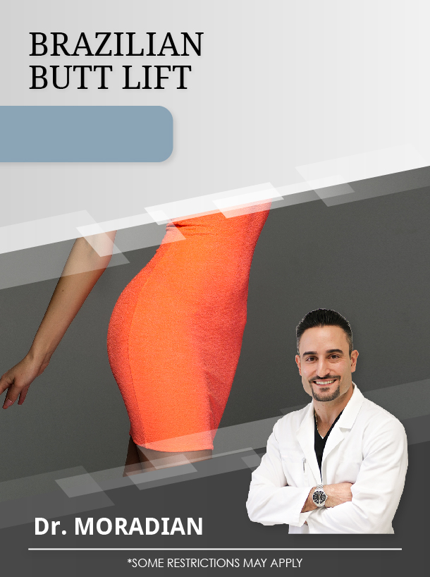 Brazilian Butt Lift with Dr. Moradian for $4,500 Special Image